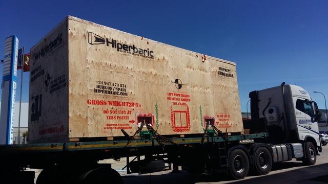 Transporte de maquinaria extradimensionado: soluciones para empresas