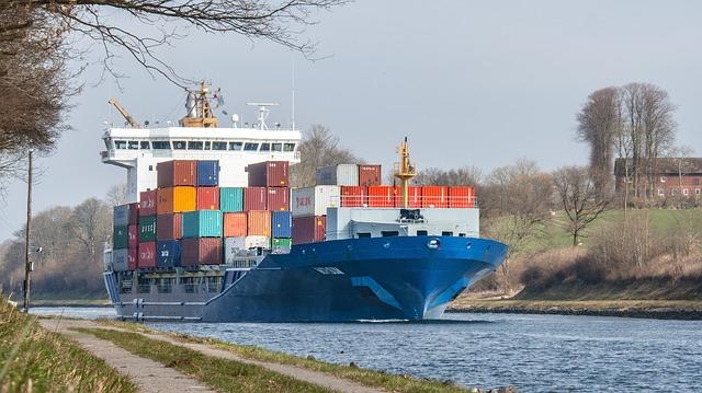 transporte marítimo mercancías