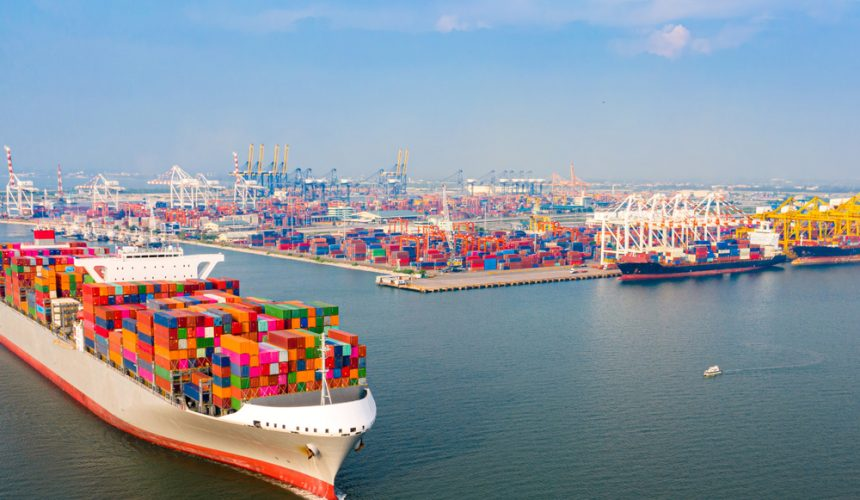 20 pies o lo que significa Teu en transporte marítimo