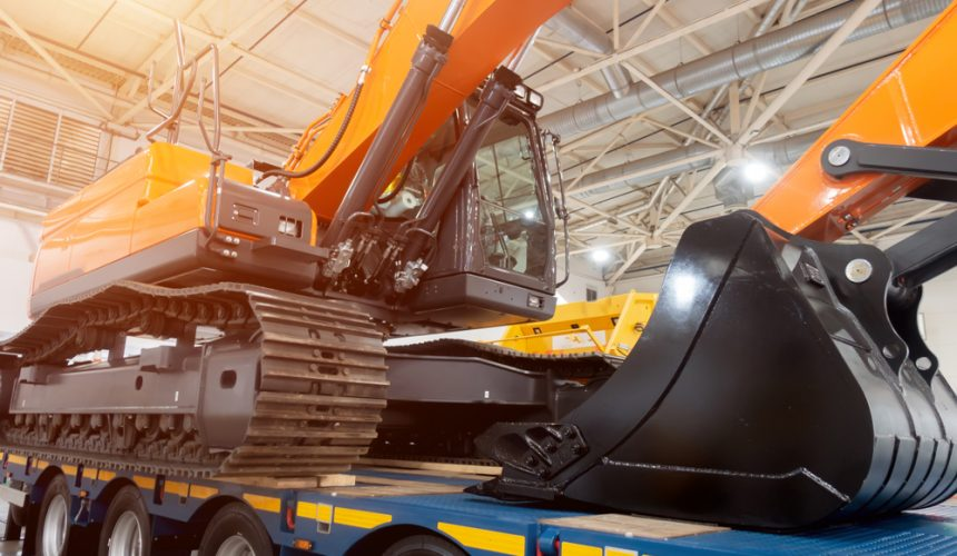 Transporte de maquinaria pesada con garantías